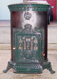 Antique French Stove Co stoves sold post war