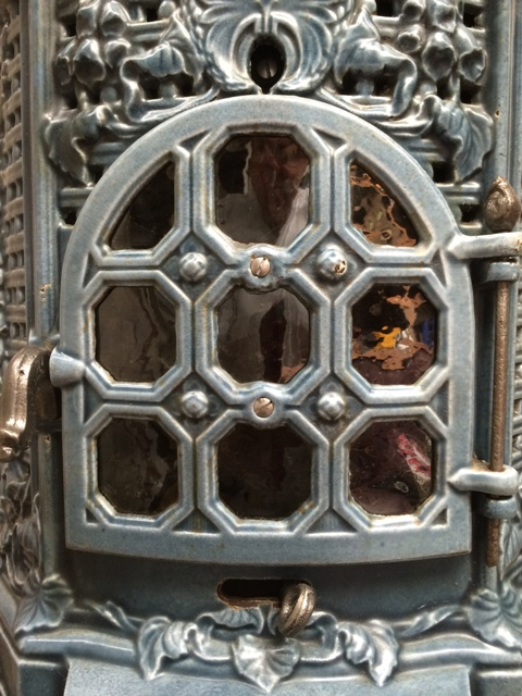 Antique French Stove Co Deville Lily restore